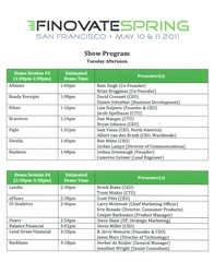Yaacov Apelbaum-Finovate 2011 Presenter List