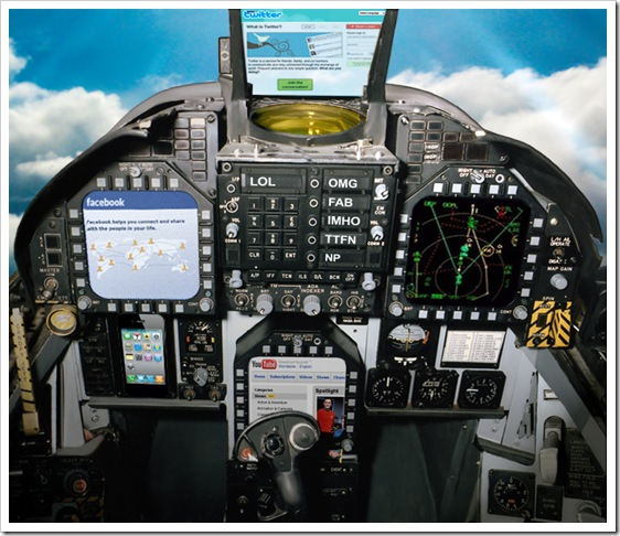 Yaacov Apelbaum - F18 Instrument Panel Facebook Twitter and YouTube