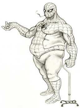 Glen southern - Fat Spiderman