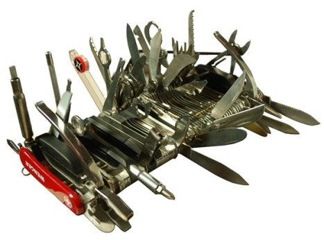 Yaacov Apelbaum - Swiss Army Knife Bloat