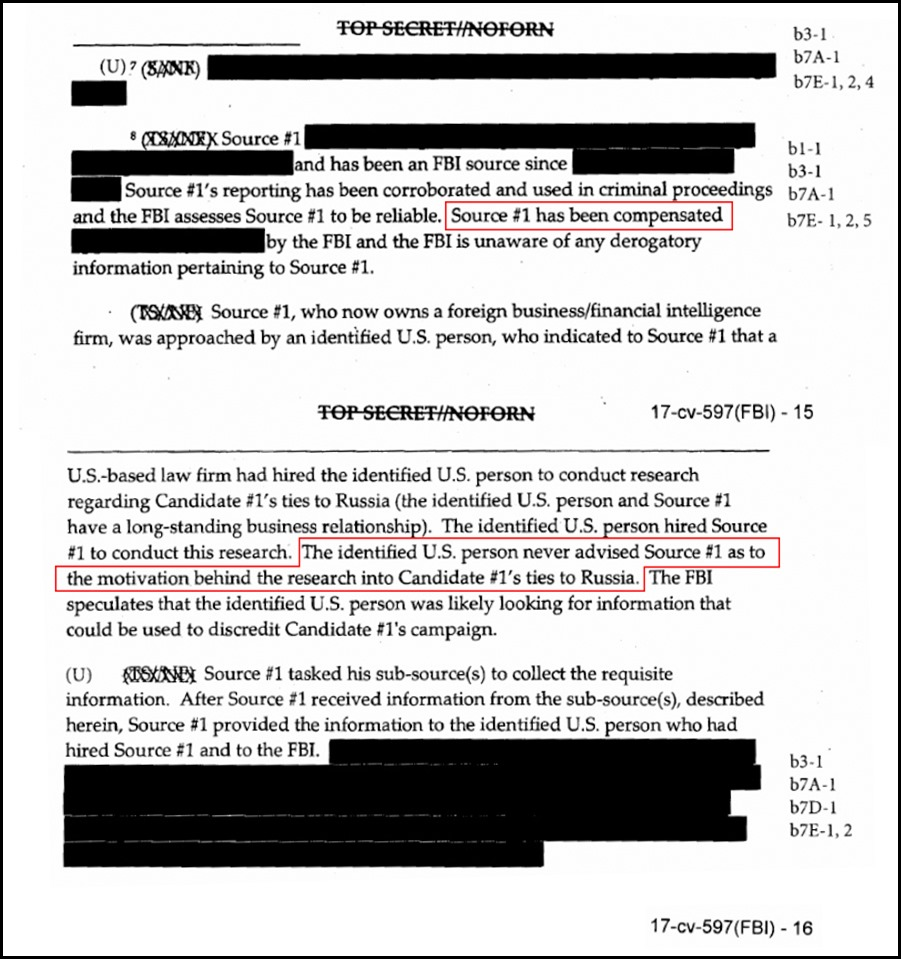 Steele and 2016 FISA Application on Carter Page