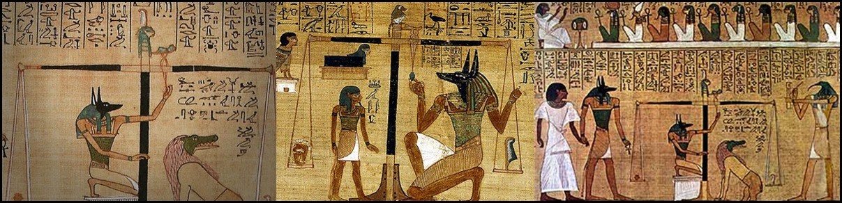 Anubis Weighing of the Heart