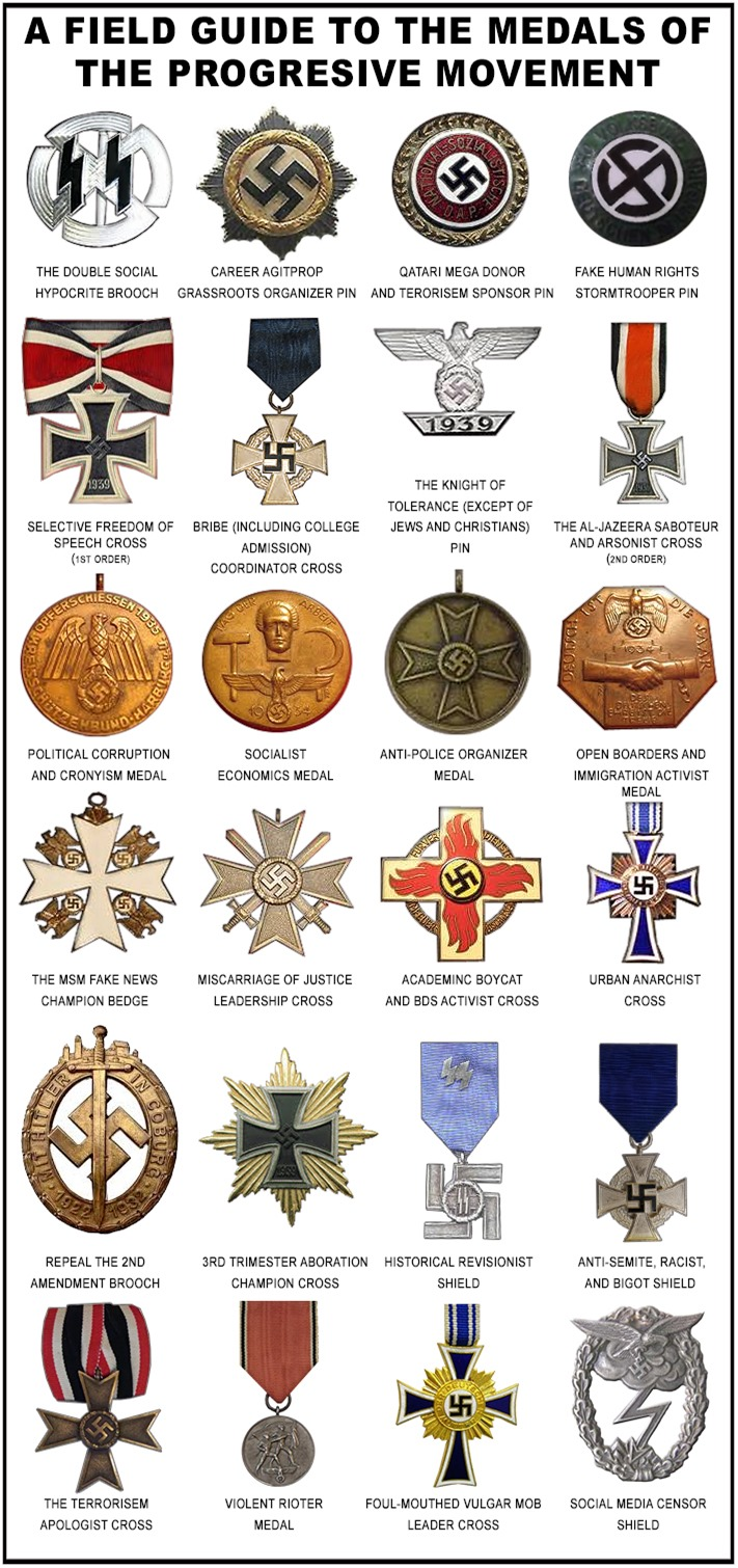 Field Guide to the Progressive Movement Medals