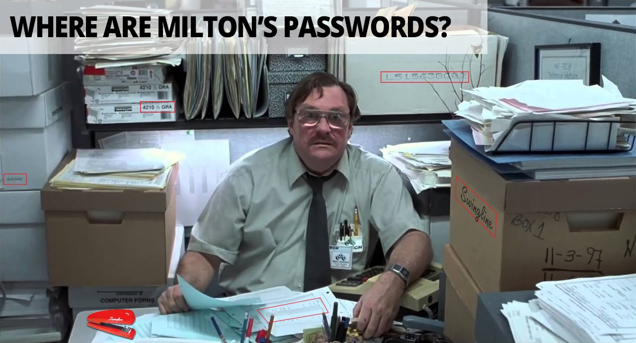 Find Milton's Password