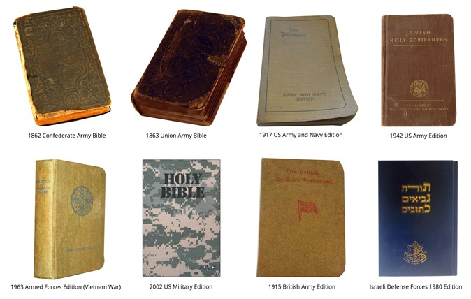 Military Pocket Bibles in History