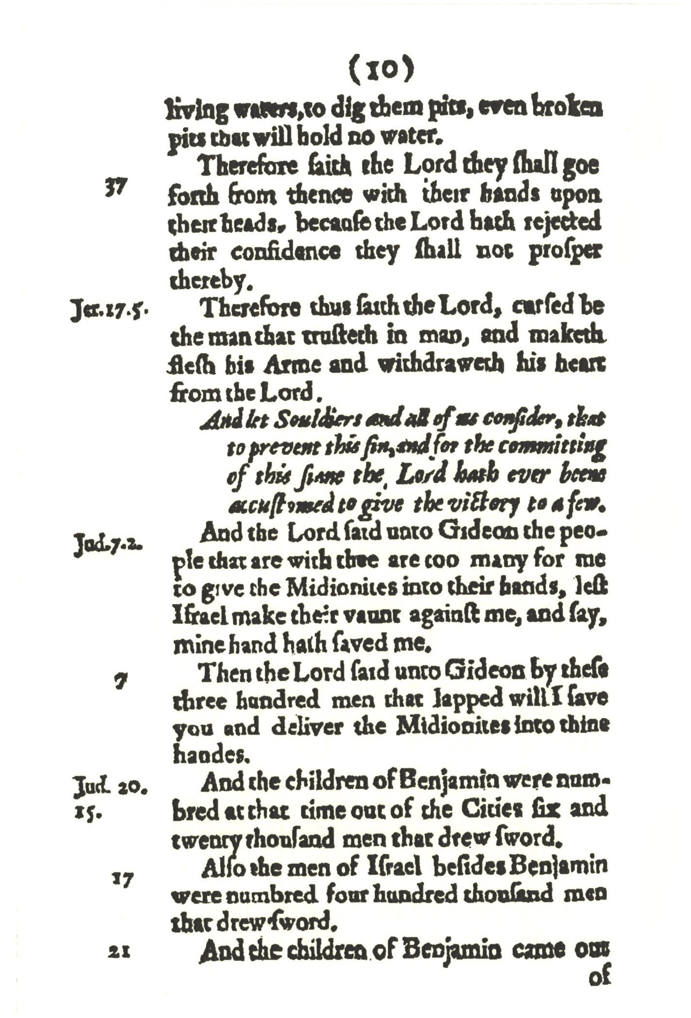 Cromwell's Soldier Pocket Bible | The Illustrated Primer