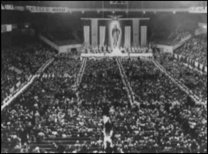 Nazis in Madison Square Garden