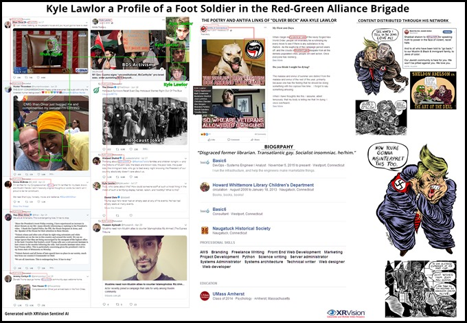 Kyle Lawlor the Red Green Alliance Brigade