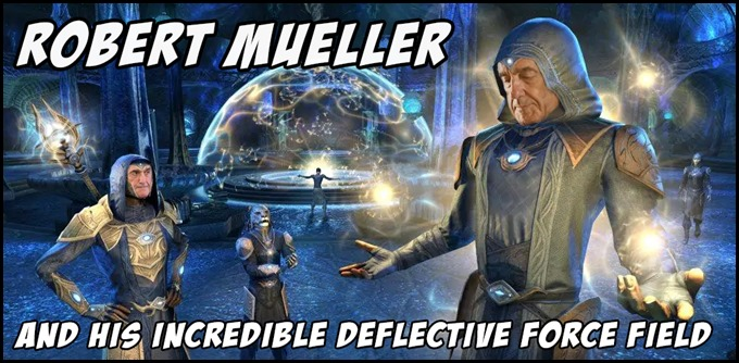 Robert Mueller and His Deflective Forcefield