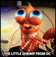 The Little Shrimp from DC