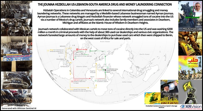 The Joumaa US-Lebanon-South America Drug and Money Laundering Connection