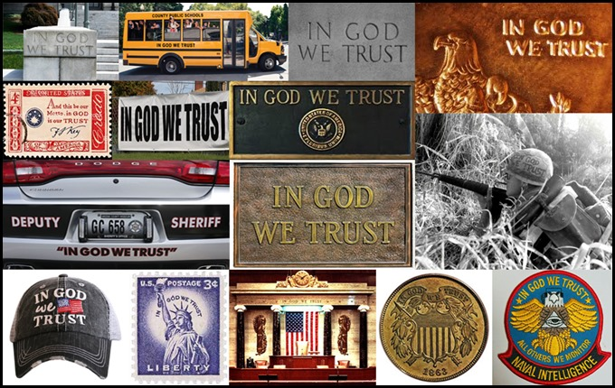 In God We Trust Signs