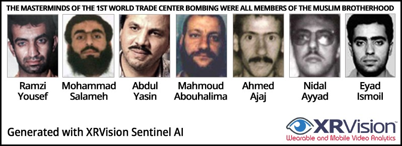 The masterminds of the 1st World Trade Center bombing Were All Members of the Muslim Brotherhood