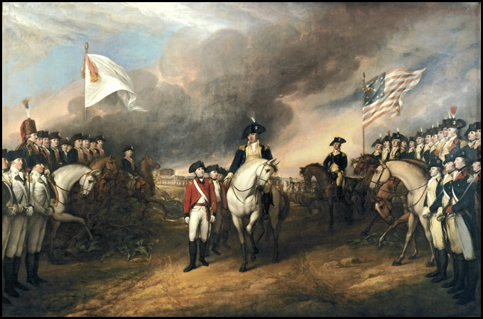 Surrender of Lord Cornwallis 1820