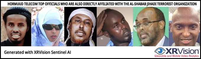 Hormuud telecom top officials who are also directly affiliated with the al-shabab Jihadi Terrorist organization