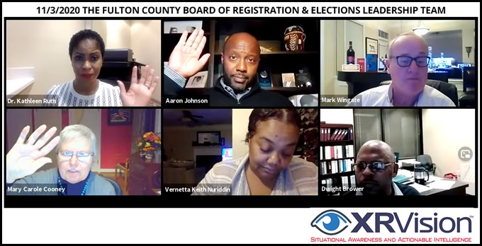 Fulton County Board of Registration & Elections Leadership