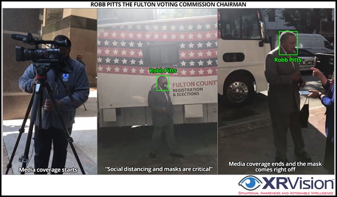 Robb Pitts and mobile voting project
